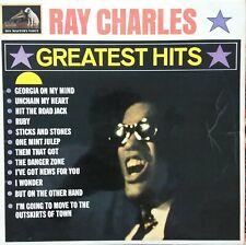 RAY CHARLES - GREATEST HITS LP HMV 1962