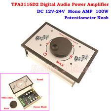 TPA3116D2 DC 12V-24V Digital Audio Power Amplifier Mono Amp Board Potentiometer