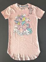 My Little Pony Einhorn Damen Nachthemd Kurzarm Bigshirt Schlafshirt XS-S-M-L Neu