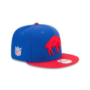 Buffalo Bills New Era NFL Retro 9FIFTY Snapback Hat - Blue/Red