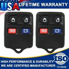 2 Keyless Entry Remote Control Car Key Fob Clicker Transmitter For Ford Explore Fits Ford