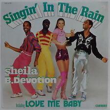 Sheila B. Devotion - Singin' In The Rain Including Love Me Baby LP Disco ISRAEL