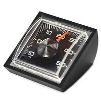 Historisches Bimetall Auto Thermometer 1972 mit Halter RICHTER / HR Art. 4680
