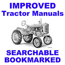 IH Super A & AV Tractors Illustrated PARTS & Owners OPERATORS -2- MANUALS CD