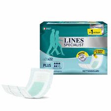 44 Pannoloni per Adulti rettangolari Lines Specialist con Barriera Impermeabile