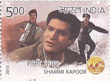 PHILA2867 INDIA 2013  SHAMMI KAPOOR - 100 YEARS OF INDIAN CINEMA MNH