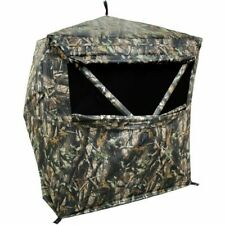New HME Executioner 2-Person Camo Ground Hunting Hub Blind