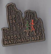 Pin's pompier / Cross national 93 - sapeurs pompiers des Pyrénées Atlantiques