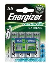 4 Energizer AA Rechargeable battery 2300 mAh Extreme 1.2V ACCU Recharge HR6