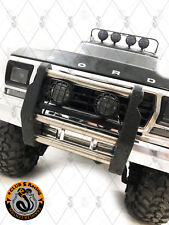 Front Push Bumper w/ Light Pods ( x 2 ) and LED Lights for TRX-4 Bronco