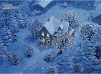 500 Piece Jigsaw Puzzle Anne of Green Gables Snow Cover the House in the Night