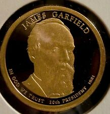 2011-S $1 James Garfield DC (Proof) Presidential Dollar