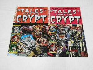 Tales From The Crypt reprints #1-6 Double-Sized, (EC), 8.5 VF+ to 9.0 VF/NM