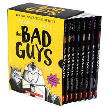 The Bad Guys Box Set: Books 1-8 by Aaron Blabey Paperback NEW FAST FREE SHIPPING