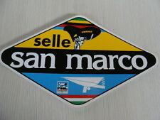 ADESIVO SELLE SAN MARCO PER BICI BICICLETTA EPOCA OLD BIKE ITALY