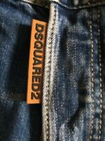 New Dsquared2 Style Summer Slim Fit Jeans Shorts size W ( 33-34 ) 50 Italy.