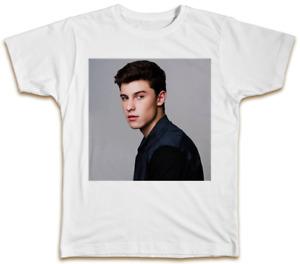 Shawn Mendes T-Shirt - Cool Swag Top Pop Music Designer Summer GIft