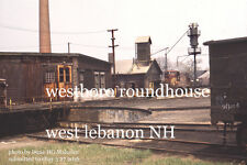 Boston & Maine RR Westboro yard West Lebanon NH June 1970 b
