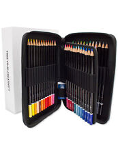 ColorIt 48 High Quality Colored Pencils with Premium Case and Gift Box - NEW