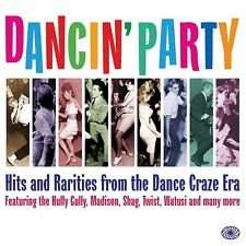 Dancin' Party-Hits & Rarities From Dance Craze Era 2-CD NEW SEALED Twist/Watusi+