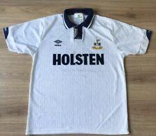 Tottenham Football Shirt. Original 1991 1992 Kit. Umbro Holsten Large.