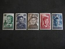 Netherlands 1951  Child Welfare.   MNH set.