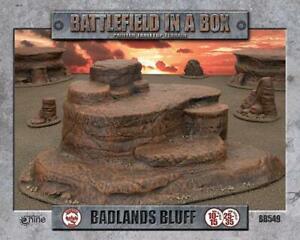 BLUFF - BADLANDS - BB549  - BATTLEFIELD IN A BOX -