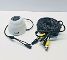 FLIR C133ED HD 1080p weatherproof IR dome security camera and cable MPX