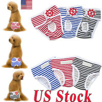 Pet Dog Panty Sanitary Pant Underwear Pet Short Cotton Pet Physiological Diapers