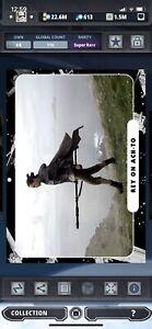 Topps Star Wars Digital Card Trader Black TLJ Movie Cards Rey Insert Award