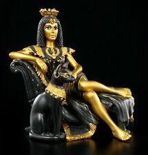 Kleopatra Figur mit Bastet - Ägypten Deko ägyptisch