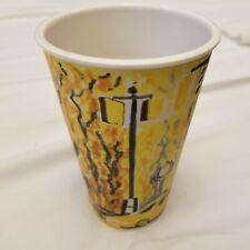 "Gwyneth Leech ""Indian Summer & Yellow Cabs"" Ceramic Coffee  Mug ArtAutumn Leaves"