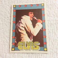1978 Monty Gum - ELVIS PRESLEY - Club Card From Holland - (Blank Back) - Card 39
