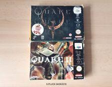 Quake & Quake 2 N64 Games Bundle Complete
