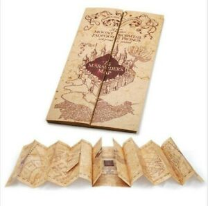 Harry Potter Marauder's Map Prop Replica Mauraders Map
