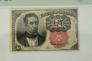 PMG MS 64 EPQ 10 Cent Fifth Issue Fractional Currency Fr#1266