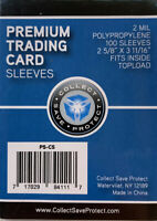 CSP Penny Sleeves 100 Sleeves - 1 Pack Protect Your Cards!