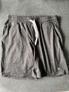 vuori ponto shorts dark gray heather size Medium