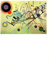 """1979 Vintage Kandinsky """" Composition VIII """" Fabuleux Couleur Offset Lithographie"""