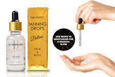 Pro Tanning Drops Dark Sunbed Tan Cream Lotion Bottle Mit Gradual No Streaks UK
