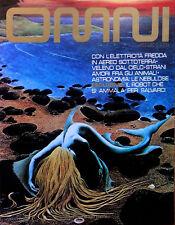 OMNI Rivista anno 1982  (FANTASCIENZA)  POSTER-LOCANDINA da Edicola >>>>