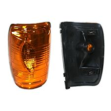 Door Wing Mirror Indicator Lens Left Side Passenger For Ford Transit Mk8 (Amber)