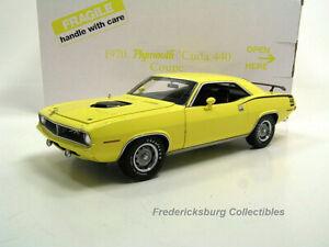 DANBURY MINT 1970 PLYMOUTH 'CUDA 440 COUPE - MINT W/ ORIGINAL BOX & PAPERS