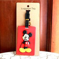 disney Mickey mouse full boy silica gel luggage tags Baggage Tag ST01 GIFT