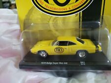 M2 MACHINES Auto-Drivers R61 TCI TRANSMISSIONS 1970 Dodge Super Bee 440 Yellow