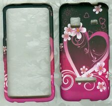 Purple Love Designed Hard Case Cover For SAMSUNG GALAXY PREVAIL SPH-M820 Phone