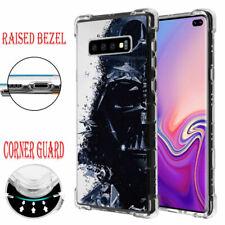 Samsung Galaxy S10 Plus Raised Corner Guard Impact Case Star Wars Darth Vader #W
