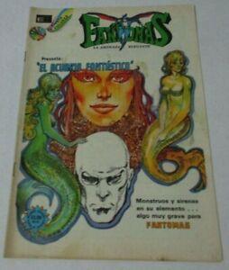 70s FANTOMAS comic NOVARO MERMAID sexy women DANGER AQUARIUM ART MONSTERS siren