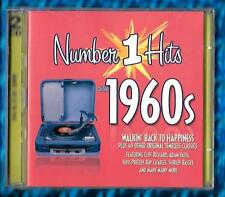 VARIOUS ARTISTS-NUMBER 1 HITS OF THE 1960's 2xCD ALBUM(2013)38354 Performance EU