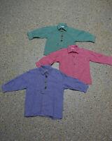 3 tlg. Jungen Kinder Trachten Konvolut in Größe 92 Hemden L183